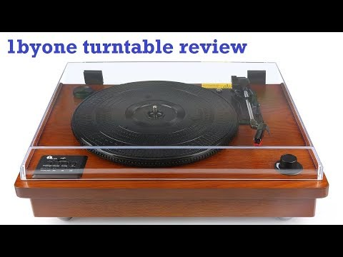 1byone 471US-0002 Bluetooth turntable review & test