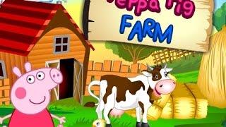 Игры для девочек ► Свинка Пеппа на ферме / Games for girls Peppa Pig Farm
