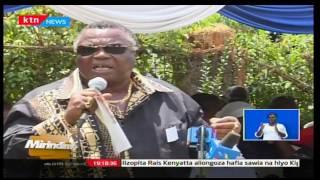 Mirindimo: Rais Uhuru Kenyatta alisha gavana wa Turkana-Josephat Nanok matusi