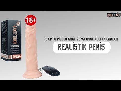 Dildo Series 15 Cm 10 Modlu Anal ve Vajinal Kullanılabilen Realistik Penis