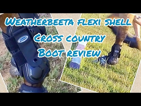 Weatherbeeta Flexi Shell Cross Country boots ~ horse product review