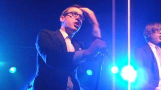 Spector live 'What you wanted' live @ Eurosonic/Noorderslag Holland 12-01-2012
