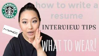 HOW TO GET THE JOB- RESUME & INTERVIEW TIPS || Jasmine Diamond