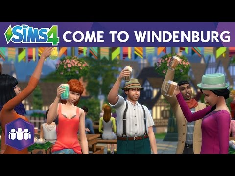 Sims 4 Get Together Trailer