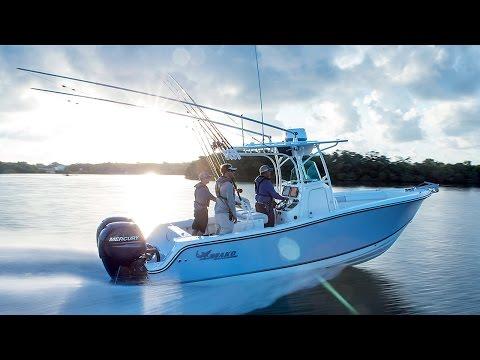 MAKO Boats: 234 CC Offshore Fishing Boat Tour