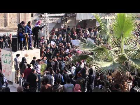 مظاهرة في معرة النعمان ضد «داعش»