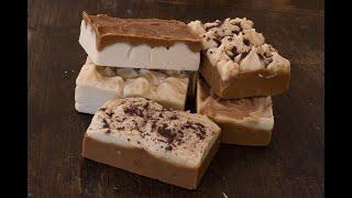 Schokoladen-/ Kakaoseife selber machen // Naturkosmetik // Seife ohne Palmöl