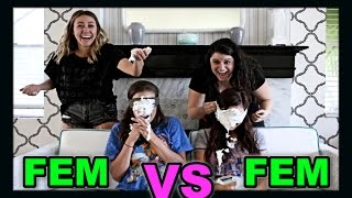 LESBIAN NEWLYWED GAME DISASTER! (Ft. Cammie & Shannon) - Video Youtube