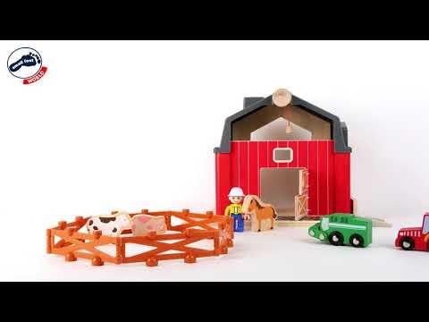 Set ferma de jucarie si accesorii Farm