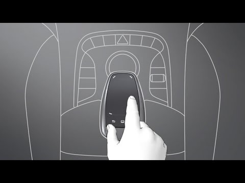 Mercedes Benz TV: S-Class Coup: Touchpad.