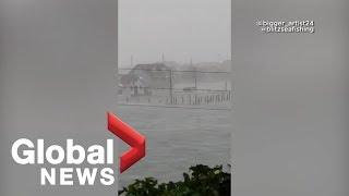 Hurricane Dorian Hits Marsh Harbour In Bahamas