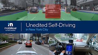 Unedited Mobileye Autonomous Vehicle Ride in New York