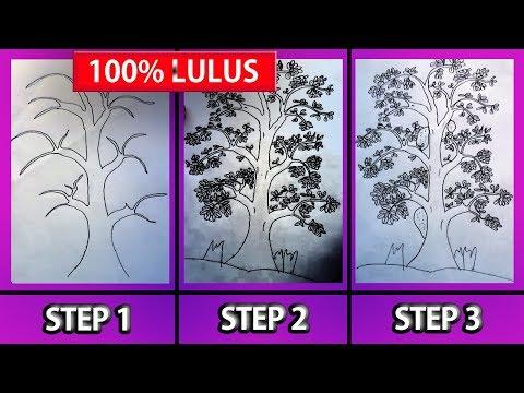 Cara Cepat Gambar Pohon Psikotes Dijamin Lulus Tes Psikotes