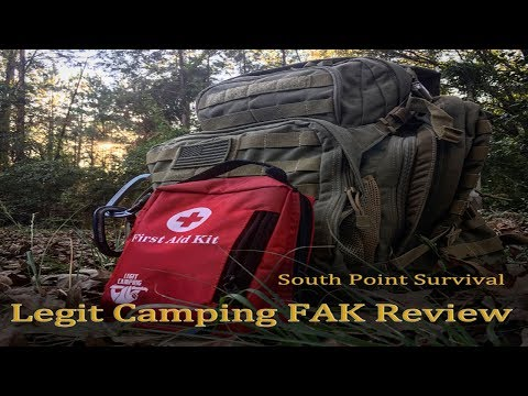 South Point Survival Legit Camping First Aid Kit Review