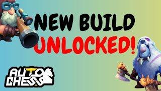 NEW BUILD UNLOCKED! | HUNTER GLACIER | AUTO CHESS MOBILE