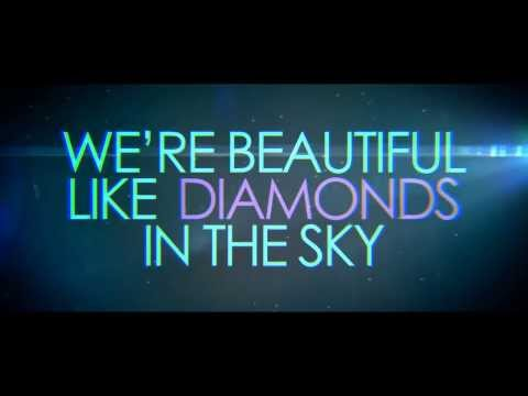 Rihanna - Diamonds (Pop-Rock cover: ARSERAS feat. Simona, 2014) LYRIC VIDEO