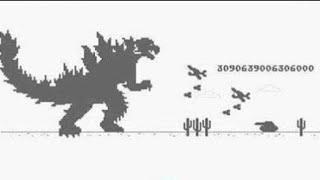 Chrome Dinosaur Game (Attempting World Record)