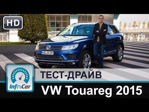 Volkswagen  Touareg Внедорожник класса J - тест-драйв 1