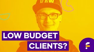 How To Handle Low Budget Clients! | #Frontrow2019 Rewind