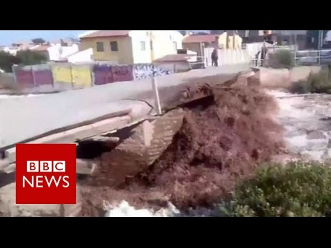 Chile mudslides cut off water to millions - BBC News