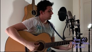 Never There   Sum 41 (Cover)