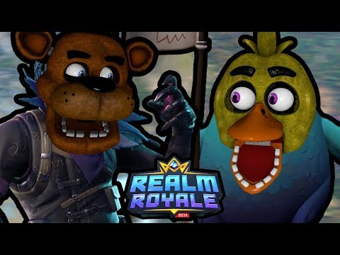 FREDDY PLAYS: Realm Royale || FINALLY PLAYING A BATTLE ROYALE GAME ON THE CHANNEL!!!
