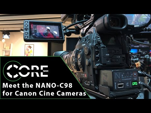 Meet the NANO-C98 for Canon EOS Cinema Cameras