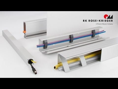 Das BLOCAN® Kabelkanal-System aus Aluminium – Kabelkanäle mit Mehrwert im Detail