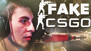 SHROUD PLAYS A FAKE CSGO