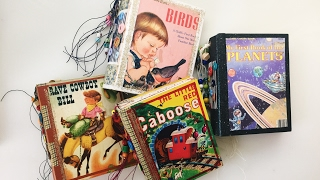 Little Golden Book Journals - Altered Books/Baby Books