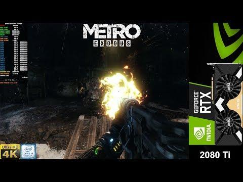2080ti 4k extreme quality gameplay :: Metro Exodus General