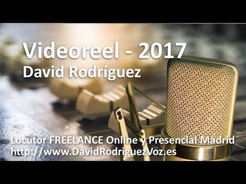Locutor David Rodríguez - Spanish Castilian (European Spanish) Voice Over Talent Voiceover Studio Finder