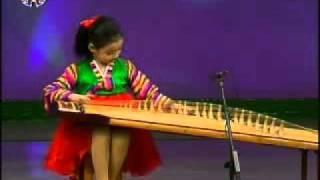 [Kayagum] Kim Kum Song (1) {DPRK Music}