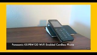 Panasonic KX-PRW120 Wi-Fi Cordless Phone Reviewed!
