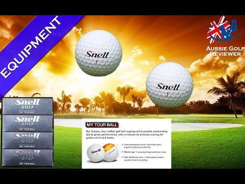 SNELL GOLF BALL MY TOUR GOLF BALL REVIEW