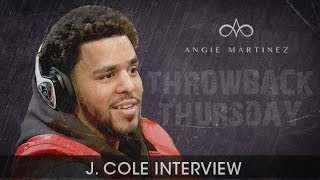 "J. Cole on ""Be Free"" Performance: I Watched Eric Garner Video Before to Get In the Mindframe"
