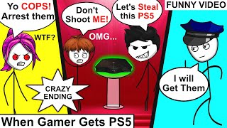 When A Gamer Gets PlayStation 5   Gamer Gets PS5