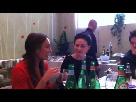Da Vinci's Demons   Lunch with the Cast