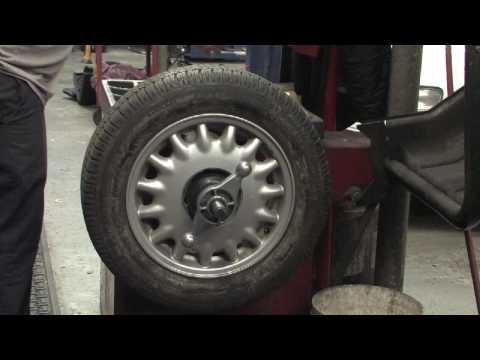 Car Maintenance Tips : How to Balance Car Tires