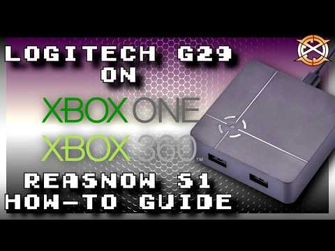 How-to use G29 on Xbox with ReaSnow S1 | Plus Quick Review