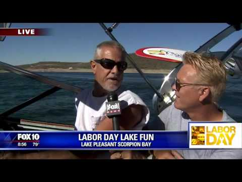 Video Labor Day fun at Lake Pleasant Scorpion Bay