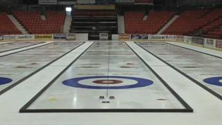 Making Championship Curling Ice
