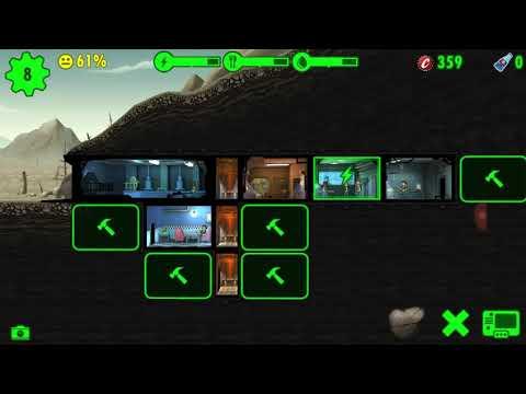 Fallout shelter#1 Piwnica z kapslami