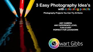 3 Easy Photography Ideas with Pencils (Quarantine) | Photography Projects to try at home.