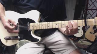 Paper in Fire - John Mellencamp (guitar cover - open G)