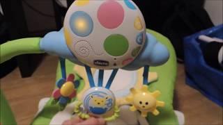 Chicco Balloon vibrační lehátko Houpátko se zábavou pro dítě