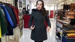 Vídeo Casaco em Lã Fake com Zíper e Capuz Alpelo Cor Chumbo