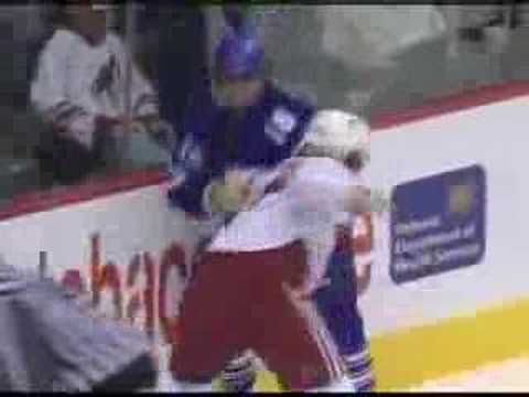 Dan Carcillo vs. Darcy Tucker
