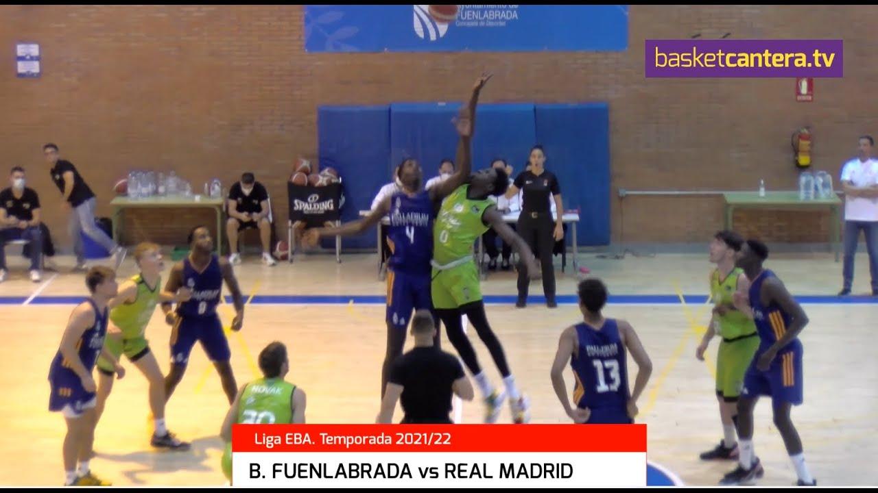 B. FUENLABRADA vs REAL MADRID.- 1º partido Liga EBA
