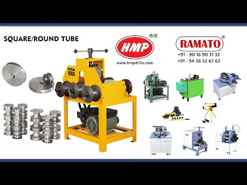 Three Roller Pipe Bending Machine